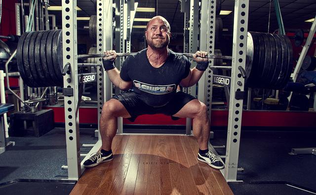 barbell squat