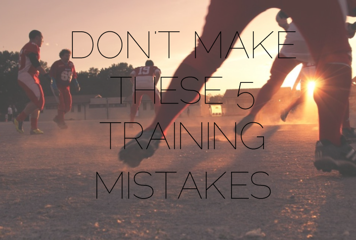 training mistakes