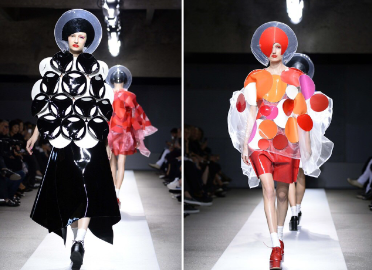 Junya Watanabe  I guess the future is now. It doesn't get much more avant-garde than this.