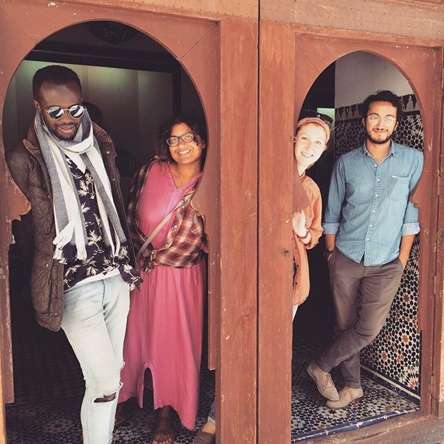 Feeling fresh in Fez. #pcmorocco #poshcorps #poshpeople #trueart