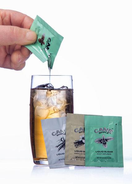 Liquid sugar packet