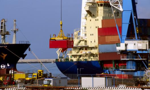 Port Genoa, Italy