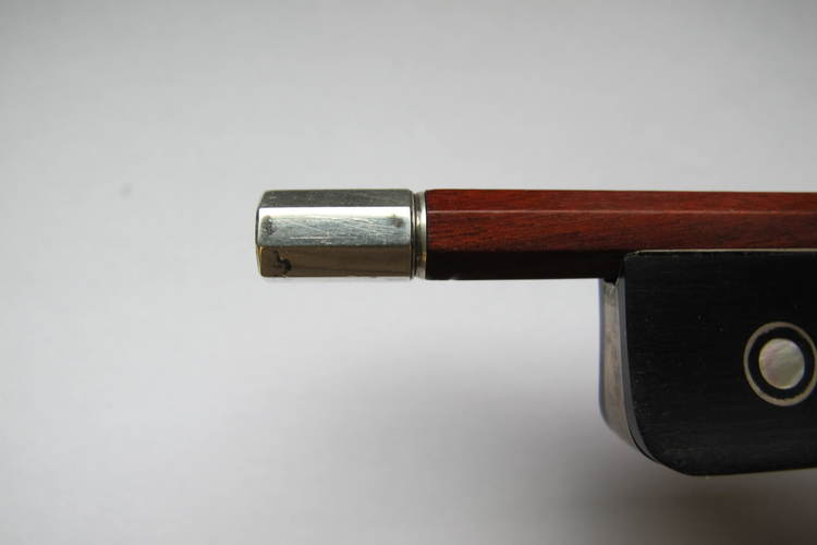 L Morizot Violin Bow, Frog and Button Copy