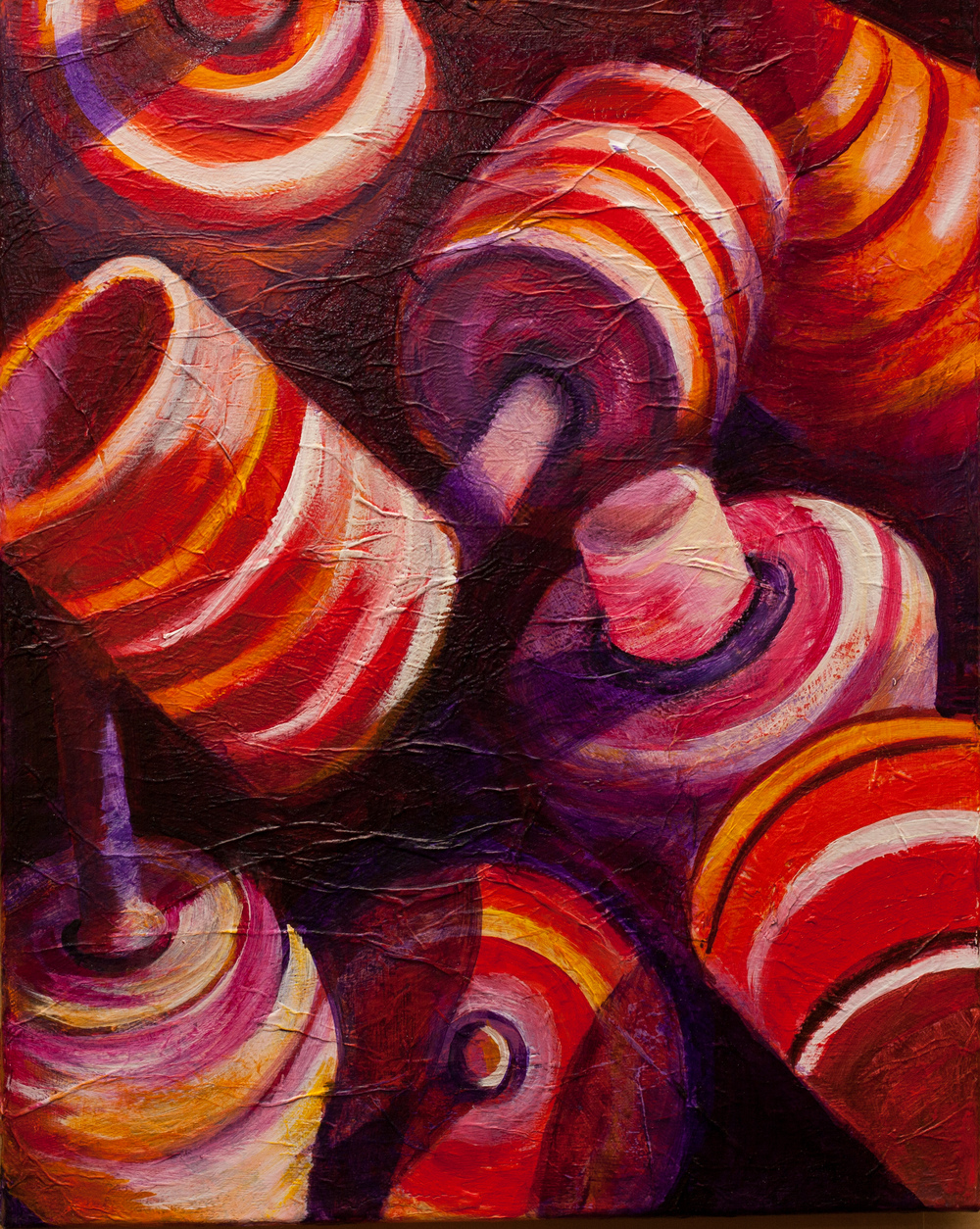 ZAPP No podria estar mas feliz (2)- Acrylic on canvas - 20x16 - Yancy Villa-Calvo.jpg