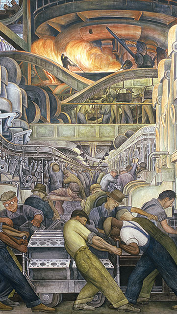 industry mural