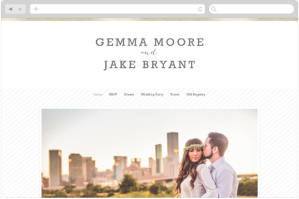 Web Template from: Minted