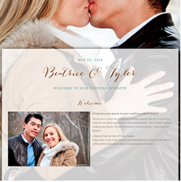 Web Template from: WeddingWire