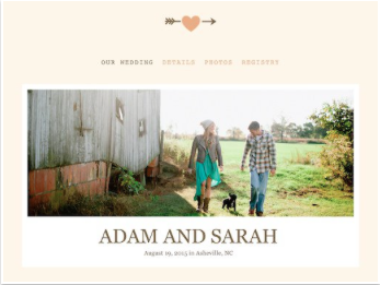 Web Template from: The Knot