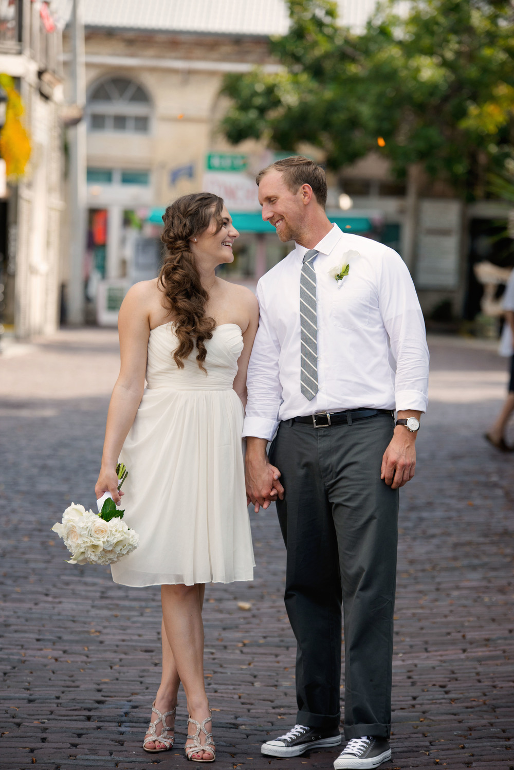 Katie & Brad {Real Wedding} | Just Save the Date | Photo Credit: Rachel E. Ligon Photography