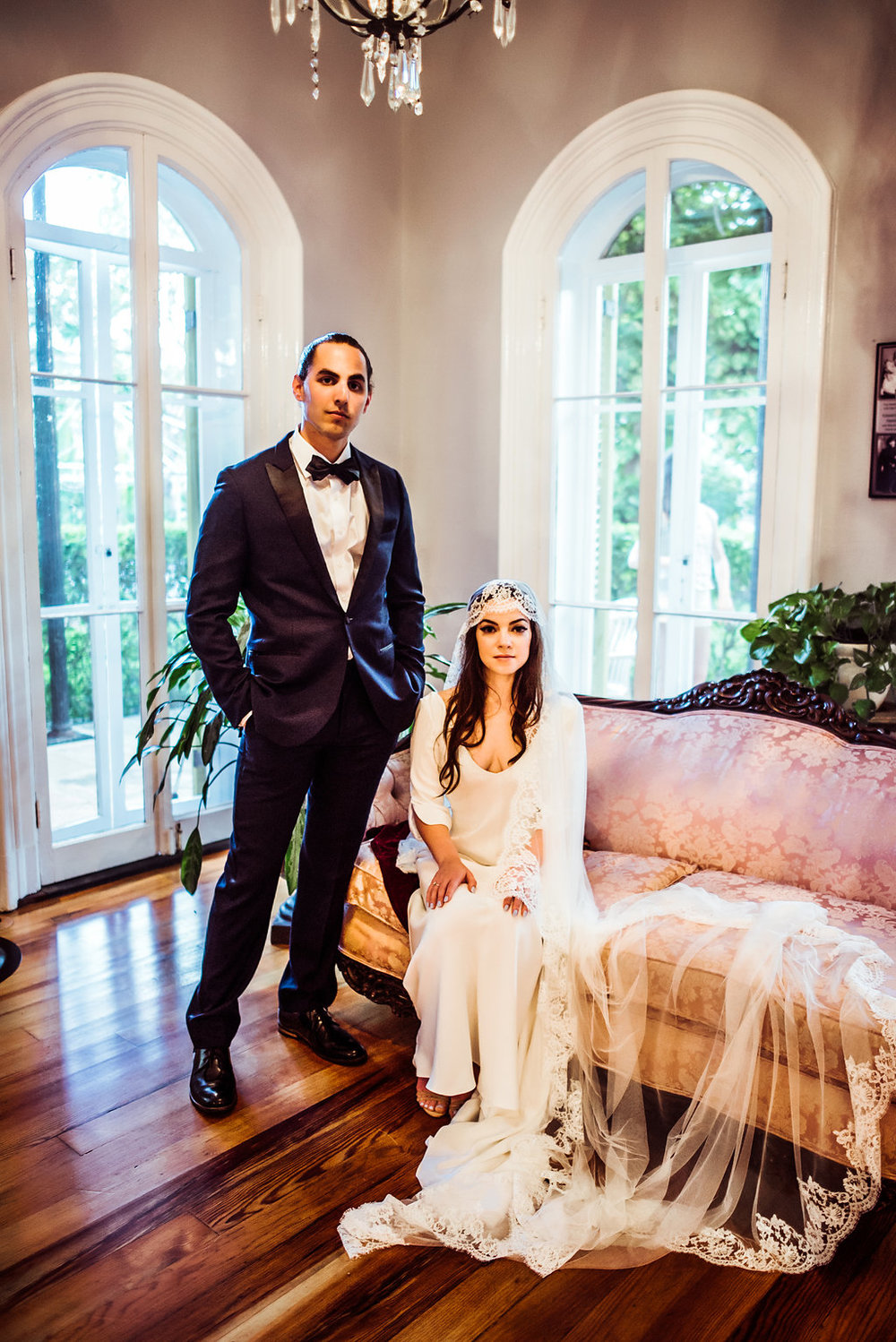 Katie & Andrew {Real Wedding} | Just Save the Date | Photo Credit: Hello Miss Lovely