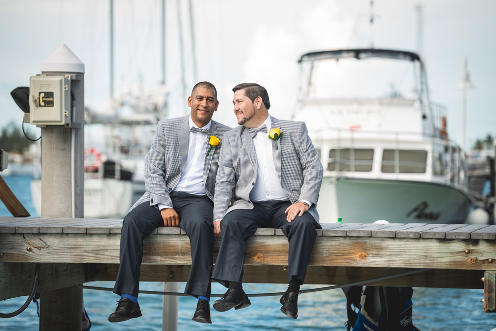 Carlos & Richard {Real Wedding} | Just Save the Date | Photo Credit: Nick Doll Photography