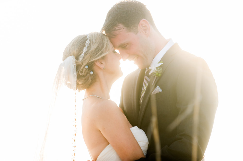 Kristen & Dave {Real Wedding} | Just Save the Date | Photo Credit: Caroline & Evan Photography