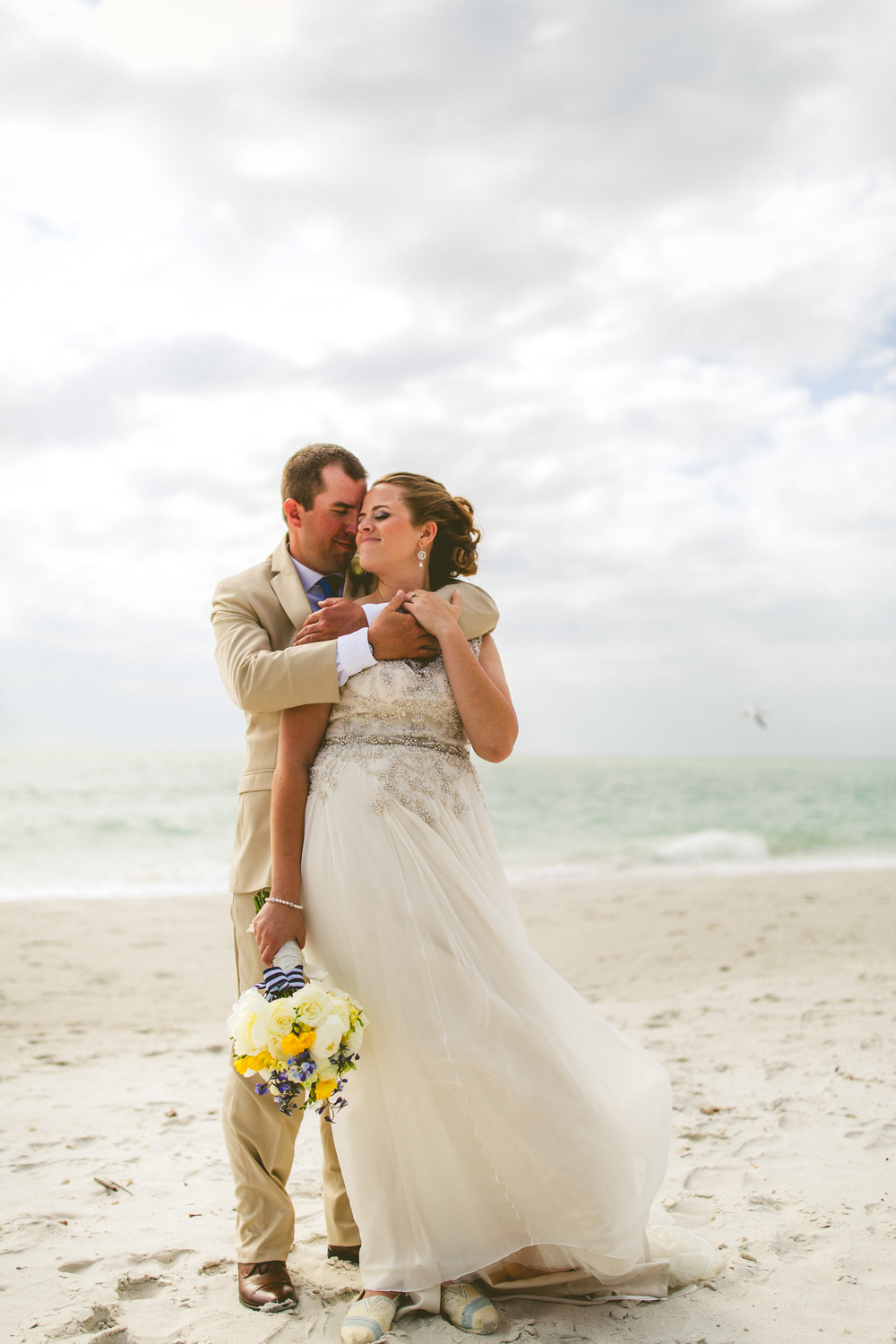 Liz & Clint {Real Wedding} | Just Save the Date | Photo Credit: Concept Photography