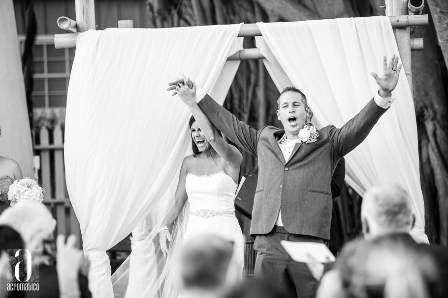 Brit & Steve {Real Wedding} | Just Save the Date | Photo Credit: Acromatico