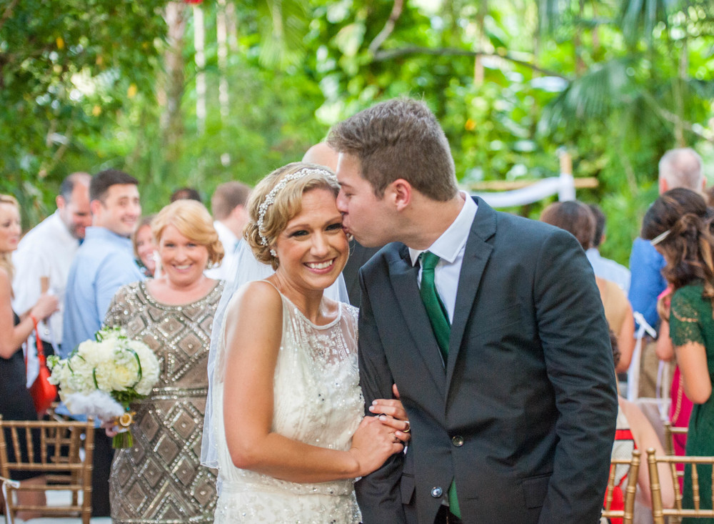 Sara & Adam {Real Wedding} | Just Save the Date | Photo Credit: Christy Ofria Photography