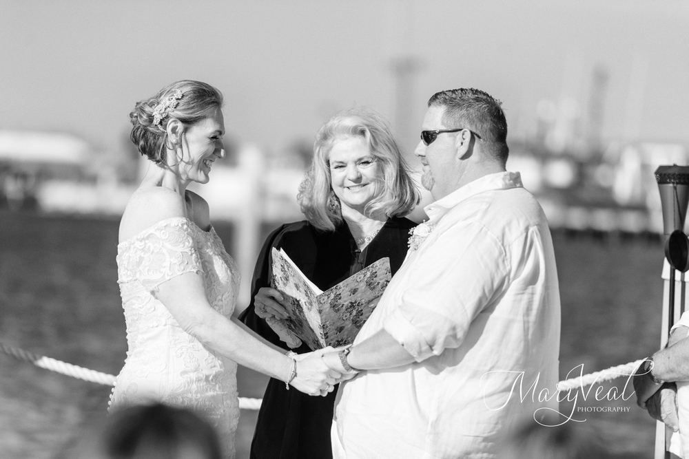Katie & Dennis {Real Wedding}| Just Save the Date| Photo Credit: Mary Veal