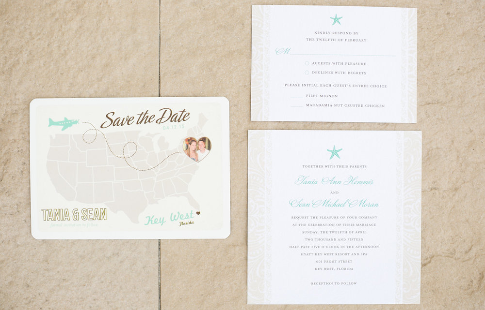 Tania & Sean {Real Wedding}| Just Save the Date| Photo Credit: Bombs Over Betty