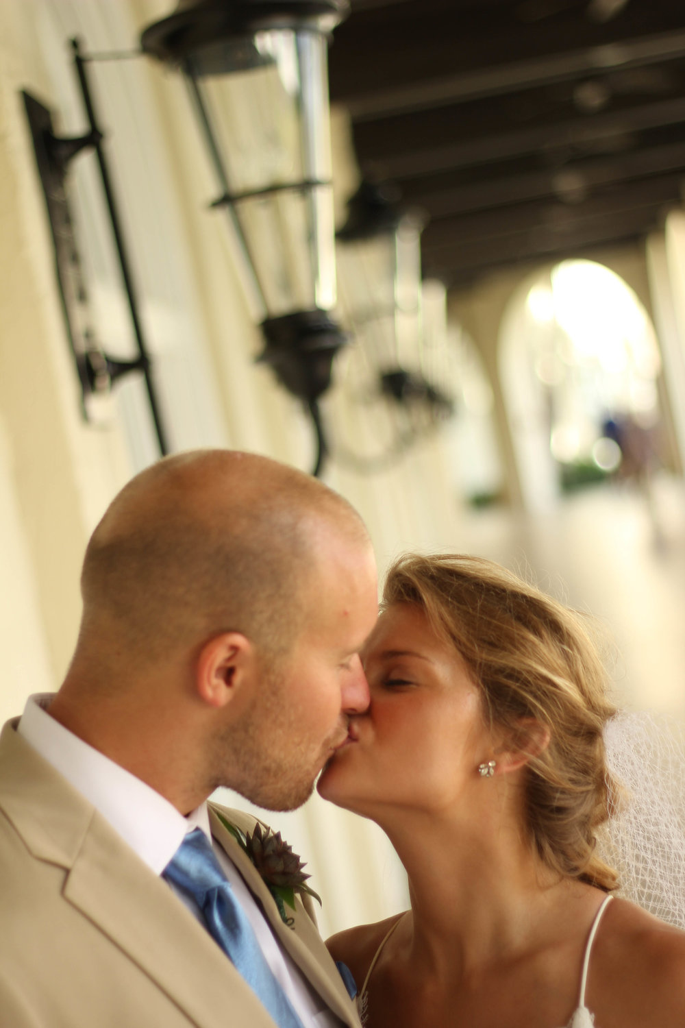 Alexis & Dustin {Real Wedding}| Just Save the Date| Photo Credit: GHE