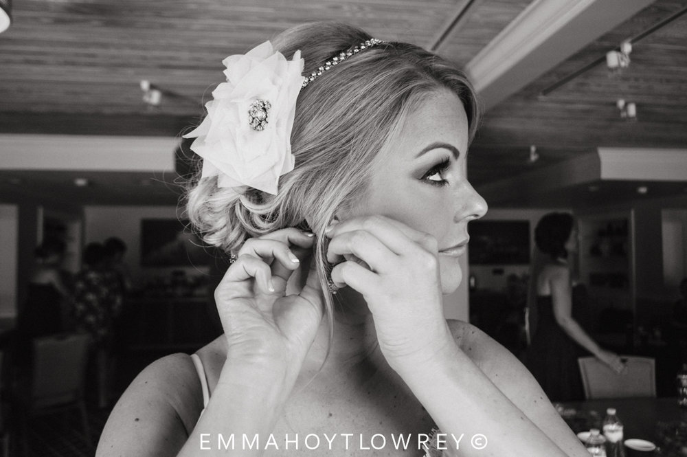 Angie & Tyler {Real Wedding}| Just Save the Date| Photo Credit: Emma Hoyt-Lowery