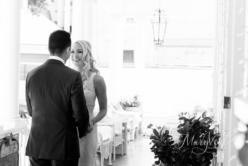 Jessica & David {Real Wedding}| Just Save the Date| Photo Credit: Mary Veal Photography