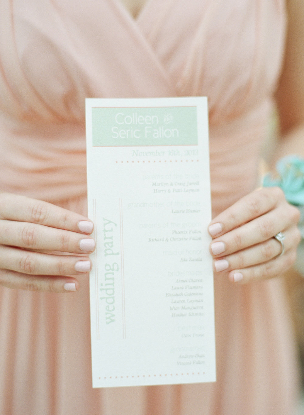 Colleen & Seric {Real Wedding}| Just Save the Date| Photo Credit: Sweet Tea Photography