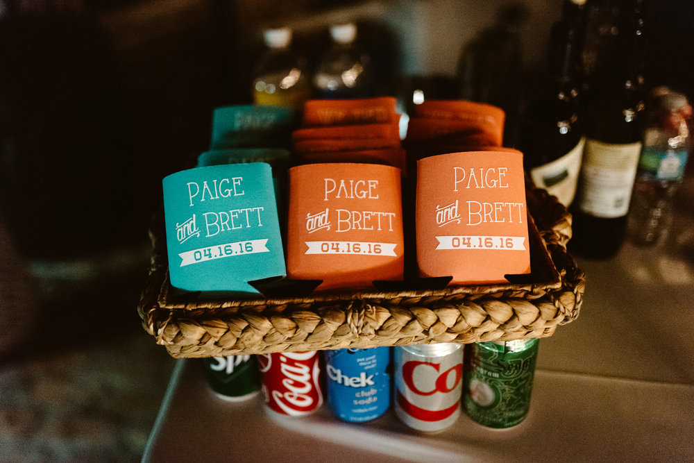 Paige & Brett {Real Wedding}| Just Save the Date| Photo Credit: Chris Glenn Photography