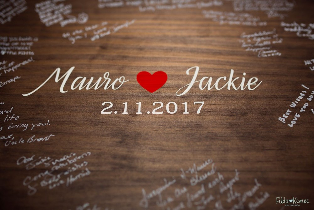 Jackie & Mauro {Real Wedding}| Just Save the Date| Photo Credit: Filda Konec Photography