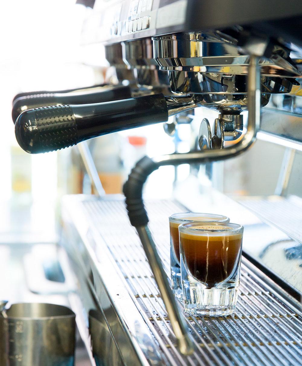 2 shots espresso