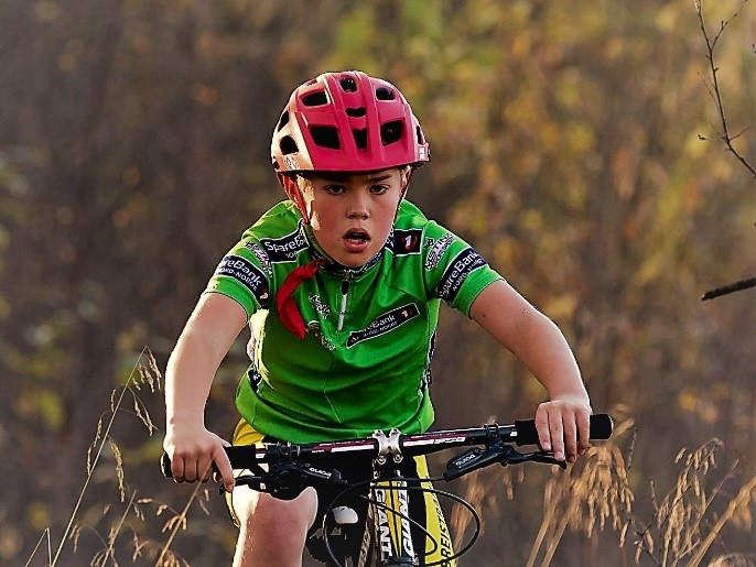 Sebastian Molund fra Harstad Cykleklubb