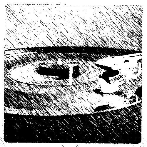 b-w record