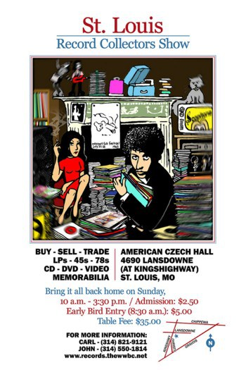 St Louis Record Collectors Show Poster