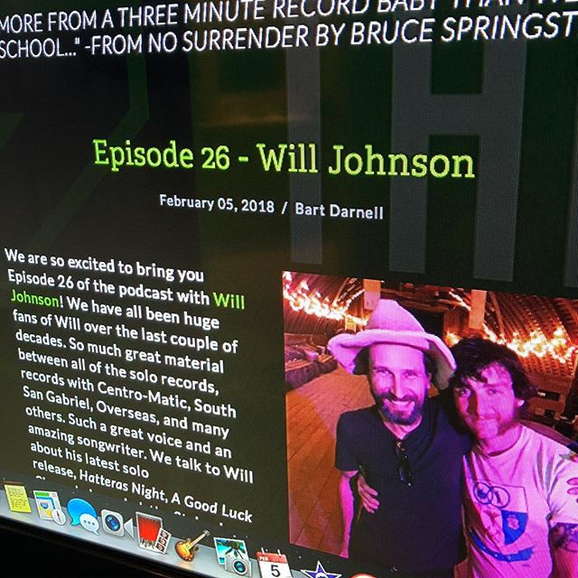Episode 26 of the podcast is now up and running and features @willjohnsontx. Such a thrill to get to sit down one of our favorite artists. Available on iTunes, Google Play, Stitcher, and over on the website. (Link to the site in profile.) Thanks for listening!
