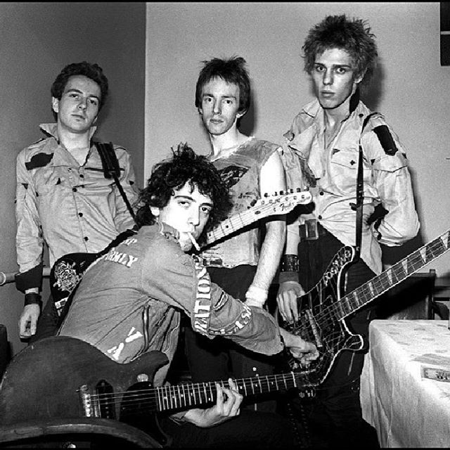 Today, we join the music community in celebrating #internationalclashday. Go out and do something revolutionary in honor of the only band that matters.  #revolutionrock #punkrock #theclash #stjoestrummer #mickjones #paulsimonon #topperheadon #rocknroll
