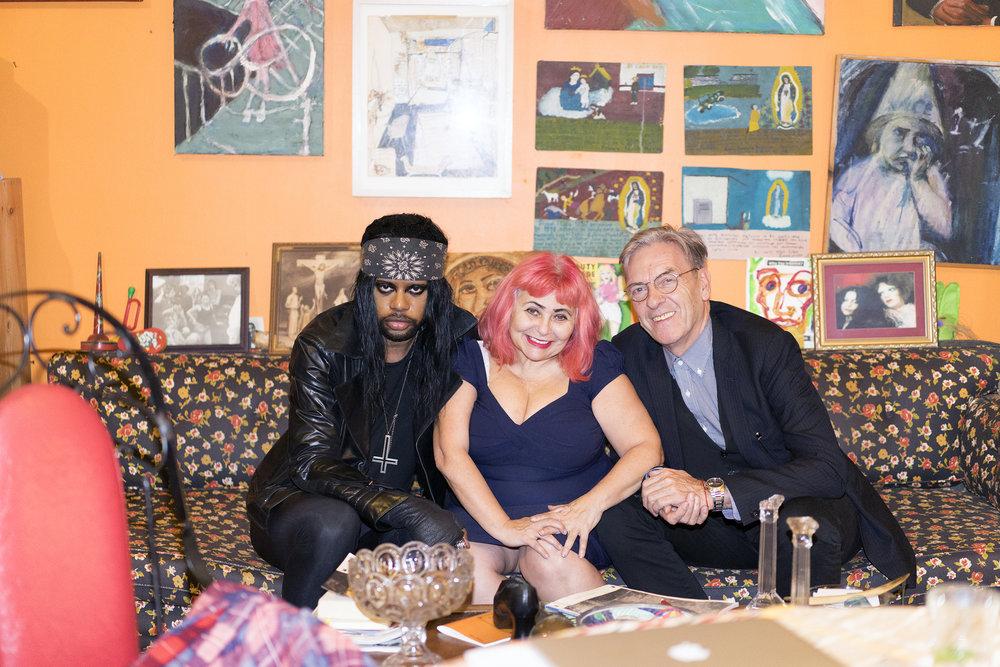 M. Lamar, Penny Arcade, Max Blagg