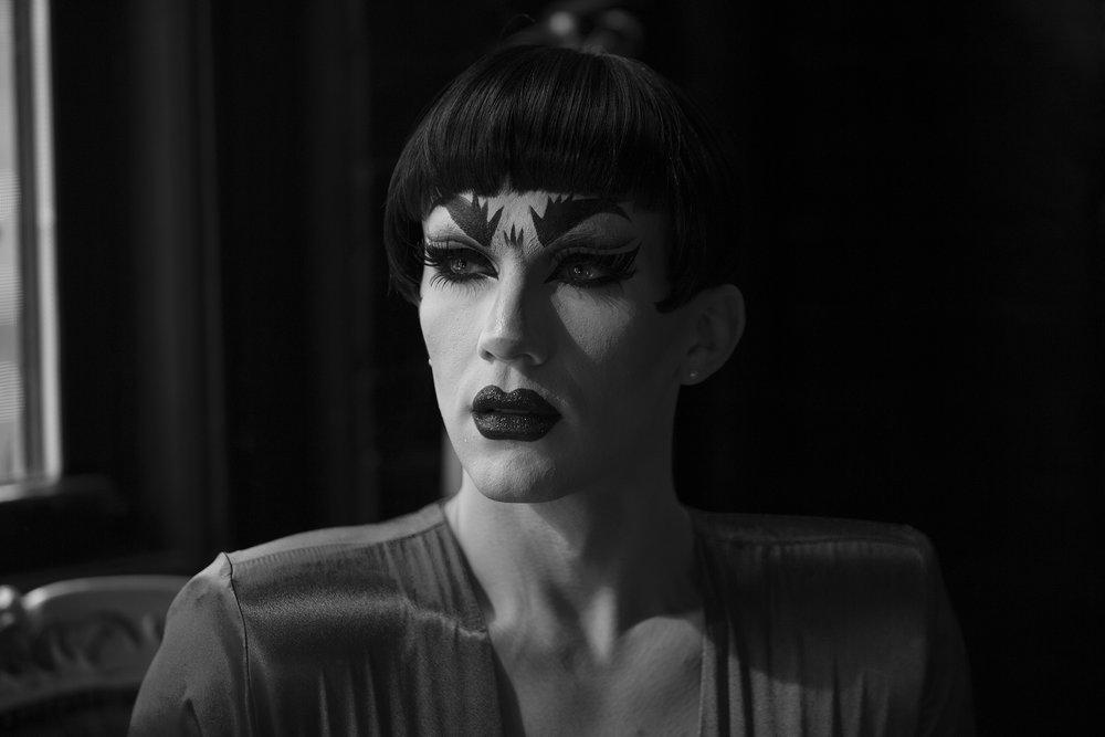 Sasha Velour at Bizarre Bushwick, 2015.