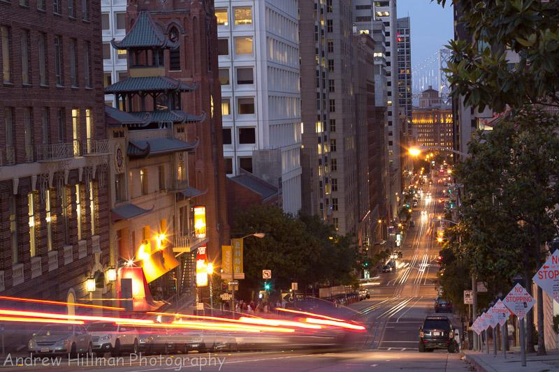 Chinatown - San Francisco at dusk - Reference US4