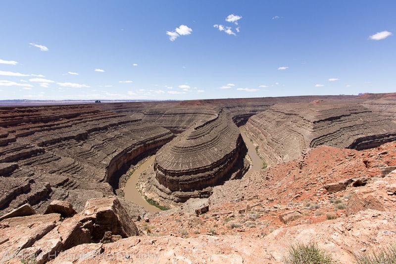Gooseneck Canyon -Utah - San Juan River- Reference US10