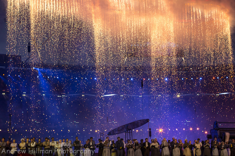 London 2012 Opening Ceremony - Dress Rehearsal - An iconic moment for the Country -  Reference 2012