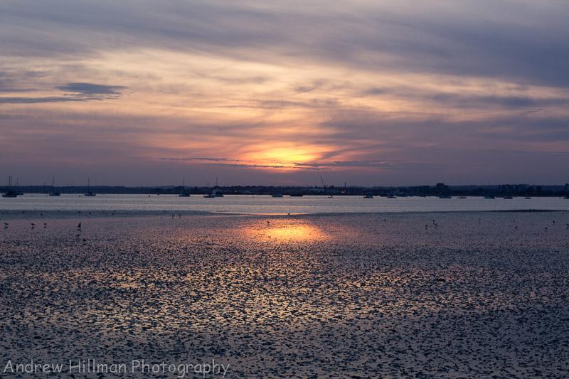 Poole sunset