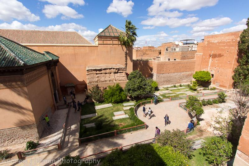Overlooking the Saadian Tombs