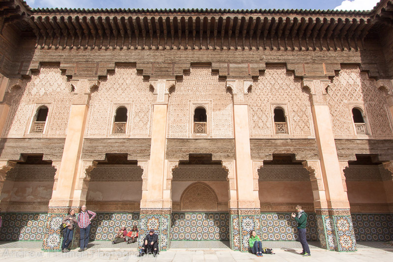 Medersa Ben Youssef - This was an Islamic college named after the Almoravid sultan Ali ibn Yusuf who reigned 1106-1142.