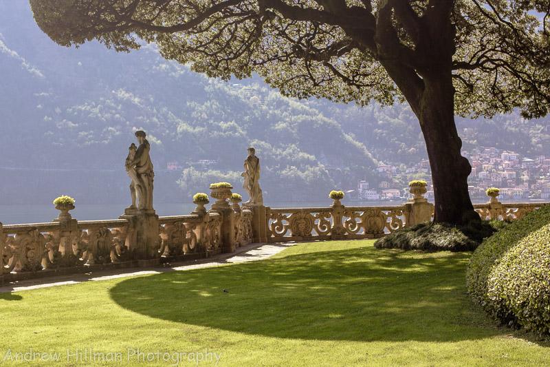 Villa del Balbianello - One of my favourite pictures from Lake Como, the umbrella tree. Daniel Craig filmed here for Casino Royale