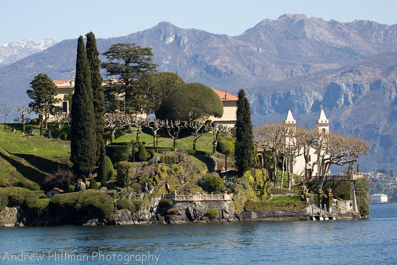 Villa del Balbianello from the lake