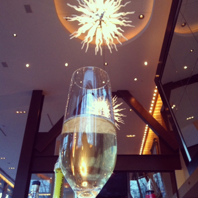 A great way to start any wine dinner, Cava!