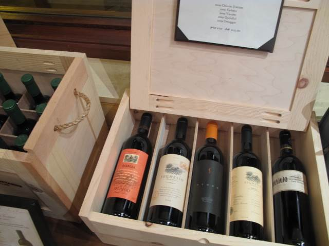 Case of Wine at Seghesio