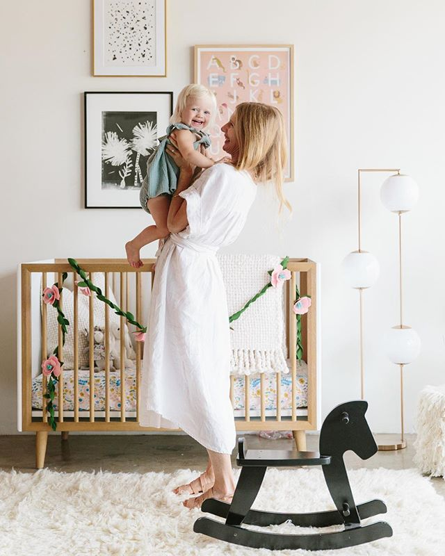 Loved seeing our @chanklaslatelier 'The L' in this gorgeous shoot with @100layercakelet for @crateandkids ! We have a soft spot for anything french & this Parisian-inspired nursery is just as sweet as it gets! 🇫🇷 - photography by @nickisebastian ❤️ #atelierancestro #CrateKids