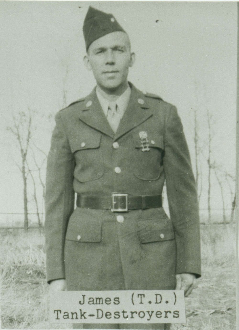 James Radlein and five of his brothers served during World War II in various branches of the military. James is featured in the History Center exhibit.