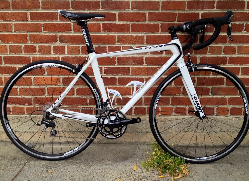 Giant TCR SL2, Shimano 105 $65/day RENT ME