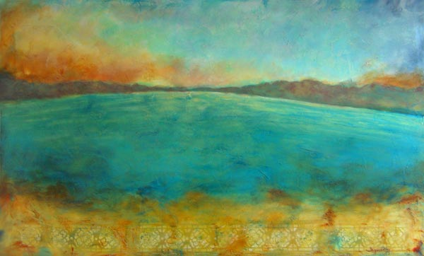 "Journey Of Hope // 36"" x 60"" // SOLD"