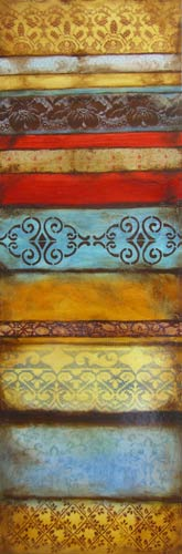 "Pillar of Harmony 3 // 12"" x 36"" // SOLD"